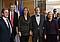 Außenminister Karel Schwarzenberg, Zweiter von rechts (Foto: ČTK)