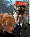 Henri Bentégeat avec la ministre de la Défense, Vlasta Parkanová, photo: CTK