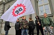 Stoupenci Dělnické strany (Foto: ČTK)