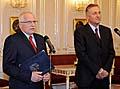 Václav Klaus (vlevo) a Mirek Topolánek, foto: ČTK