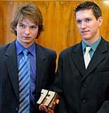 Stanislav Vodička (left) and Jakub Štěrbík, photo: CTK