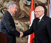 Heinz Fischer (links) und Václav Klaus (Foto: ČTK)
