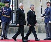 Heinz Fischer (rechts) und Václav Klaus (Foto: ČTK)