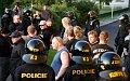 Les extrémistes à Karlovy Vary, photo: CTK