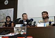 Pressekonferenz der tschechischen Polizei (Foto: ČTK)