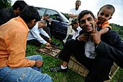 Romové v Husinci, foto: ČTK