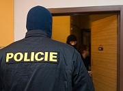 Zatýkání extremistů v Českých Budějovicích (Foto: ČTK)