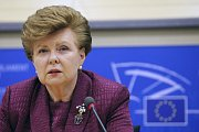 Vaira Vike-Freiberga, former Latvia's President, and one of the candidates to be the first EU President, photo: CTK