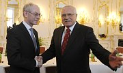 EU President Van Rompuy and Czech President Klaus, photo: CTK
