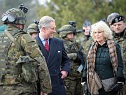 Prince Charles with his wife Camilla in Poland, photo: CTK