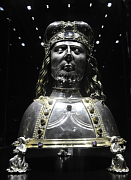The reliquary bust of Saint Wenceslas, photo: CTK
