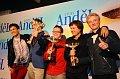 Band Charlie Straight hat den Anděl-Preis gleich in drei Kategorien erhalten (Foto: ČTK)
