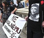 Protest gegen die Einführung von Studiengebühren (Foto: ČTK)