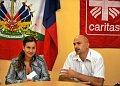 Irena Klimková a Martin Zamazal se vrátili z půlročního působení na Haiti, kde pomáhali po zemětřesení, foto: ČTK