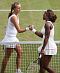 Petra Kvitová y Serena Williams, foto: ČTK
