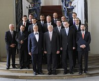 The new Czech government, photo: CTK