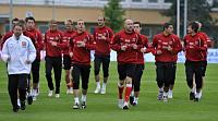Training der tschechischen Mannschaft (Foto: ČTK)