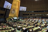 The 65th session of the United Nations General Assembly, photo: CTK