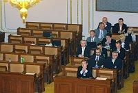 Annahme des Widerstandgesetzes scheint entschieden: Die Zustimmung der Regierungsmehrheit im Abgeordnetenhaus gilt als Formsache (Foto: ČTK)