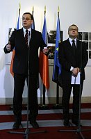 Petr Nečas und Tomáš Chalupa (Foto: ČTK)