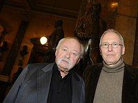 Oldřich Kulhánek und Wolfgang Mauer (Foto: ČTK)
