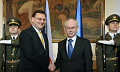 Petr Neas et Herman Van Rompuy, photo: CTK