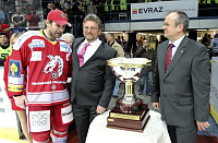 Radek Bonk with the Presidents Trophy, photo: CTK