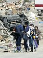 Nach dem Erdbeben in Japan (Foto: ČTK)