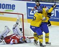 Zápas se Švédskem, foto: ČTK