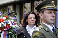 Presidenta del Parlamento, Miroslava Němcová. Foto: ČTK