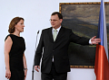 Karolna Peake a Petr Neas, foto: TK