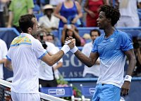 Radek tpnek und Gal Monfils (Foto: TK)