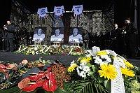 Zu den Opfern der Flugzeugkatastrophe bei Jaroslawl gehören auch drei tschechische Eishockey-Nationalspieler (Foto: ČTK)