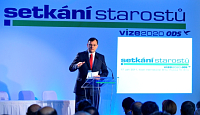 Petr Nečas na konferenci starostů aprimátorů ODS vBrně, foto: ČTK