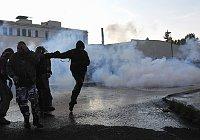 Víkendové násilnosti na Šluknovsku (Foto: ČTK)