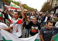 Manifestation en Bulgarie, photo: CTK