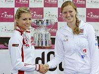 Maria Kirilenková (vlevo) aPetra Kvitová, foto: ČTK