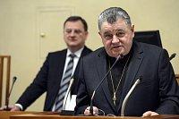 Petr Nečas et Dominik Duka, photo: CTK