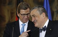 Guido Westerwelle et Karel Schwarzenberg, photo: CTK