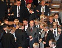 Poslanci ČSSD na schůzi Poslanecké sněmovny, foto: ČTK