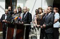 Poslanci zmandátového aimunitního výboru, foto: ČTK