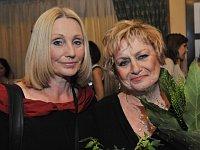 Olga Sommerová et Věra Čáslavská, photo: CTK