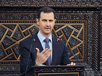 Bashar Assad, photo: CTK