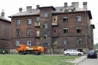 Problematické domy v ostravské lokalitě Přednádraží (Foto: ČTK)