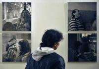 Na výstavě Život jak ho znám (Foto: ČTK)