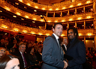 Vladimír Šmicer, Christian Karembeu, photo: CTK