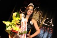 Devatenáctiletá Dominika Bubenčíková ze slovenské Rožňavy získala 18. května v Hodoníně korunku Česko-Slovenské Miss Roma 2013 (Foto: ČTK)
