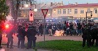 Le rassemblement anti-Roms à Ostrava, photo: CTK