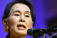 Aung San Suu Kyi, photo: CTK