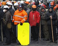 Protesters attend a march in Kiev, Ukraine, Jan. 27, 2014, photo: CTK